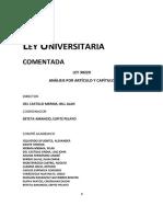 Ley Universitario 2