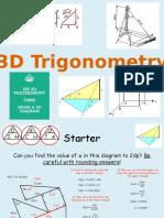 18) 3D Trigonometry