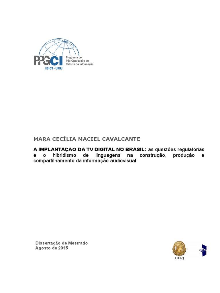 ba4d12e2a3 A implantação da TV Digital no Brasil
