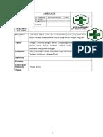 SOP Ambulansi