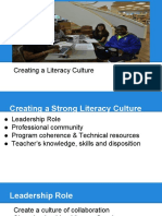 creating a culture of literacy in your school