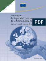 Estrategia de Seguridad interior de la Union Europea