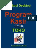Desain Program TOKO - Aplikasi Penjualan dan Pembelian Barang Untuk Toko dengan Visual Basic 6
