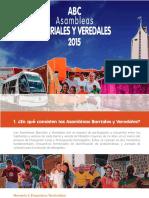 ABC Sambleas Barriales y Veredales