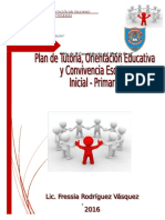 Plan Institucional Anual de Tutoria y Orientación Educativa