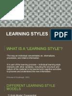 learning styles presentation - anne-jordan-alex-final