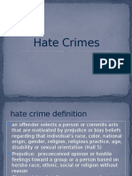 hate crimes presenation