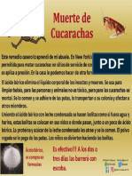 Muerte de Cucarachas