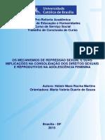 Os Mecanismos de Repressão Sexual e Suas Implicações Na Consolidação Dos Direitos Sexuais e Reprodutivos Na Adolescência Feminina
