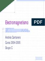 Tema1 Electromagnetismo Aspectos Generales