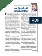 Penerapan Biosekuriti Di Industri Akuakultur