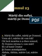023.Mariti Dun Suflet,Mariti Pe Domnul!