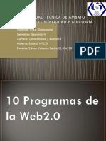 10 programas de la web2.0