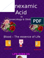 Tranexamic Acid in Gynaecology & Obstetric