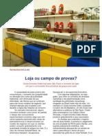 Inovações em Lojas - Clube Amostra Grátis
