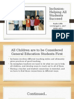 inclusion presentation