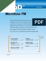 Apendice D - Microfono FM