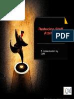 Reducing Staff Attrition