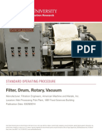 Filter Drum Rotary