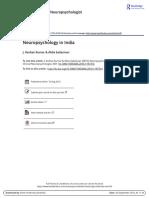 neuropsychology in India