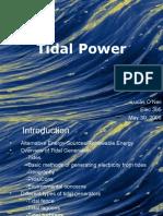 Tidal Power (1)