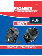 Pioneer Automotive - Mounts ETM-14