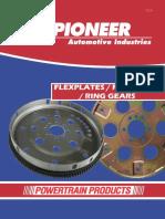 Pioneer Automotive - Flexplates-Flywheels-Ring Gears FRA-2017