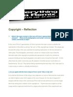 copyright reflection