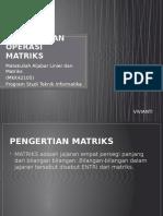 aljabar - pertemuan 1 - matriks dan operasi matriks.pptx