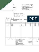 Factura Produse Finite