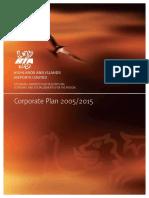Corporate Plan Summary 2005