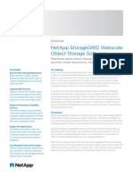 NetApp StorageGRID Webscale Software DS