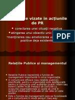 Probleme Vizate În Acţiunile de PR