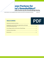 A Survey of Sustainable Homebuilding Practices