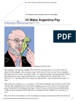 Argentina's Vulture, Paul Singer, Is Wall Street Freedom Fighter - Businessweek