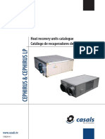 VENT CASALS Cephirus Heat Recovery