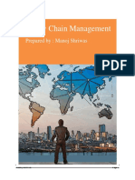 Supply Chain Management Complete Notes - Manoj Shriwas