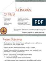 ATIS for Indian Cities