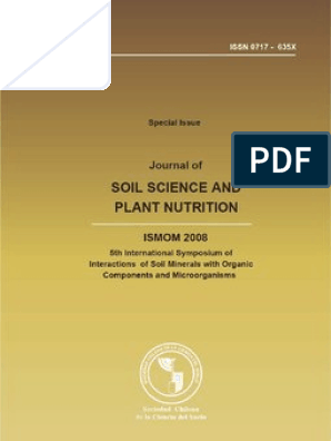 ISMOM 2008  Journal of Soil Science and Plant Nutrition