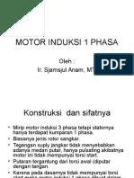 Motor Induksi 1 Phasa