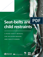 TS Seat-belts WHO Manual