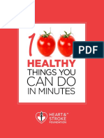 100 Healthy Things