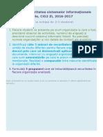 Proiect PSI CIG2