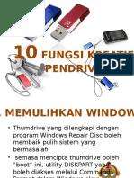10 FUNSI THUMBDRIVE