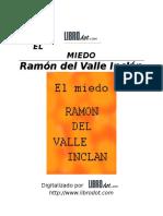 VALLE-INCLAN, Ramon Maria del E - Desconocido.doc
