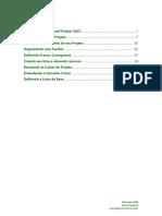 Manual Microsof Project 2013 Planejamento