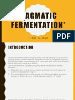 Magmatic Fermentation