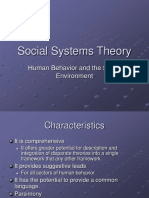 Social Systems Theory (1)