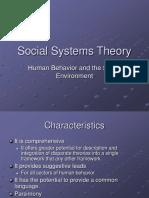 Social Systems Theory (1)