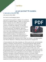 ConJur - Como Se Produz Um Jurista_ O Modelo Francês (Parte 12)
